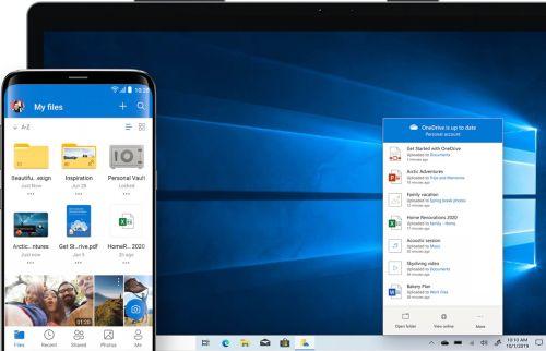微软OneDriveiOS与Android版更新可从ios同步文件