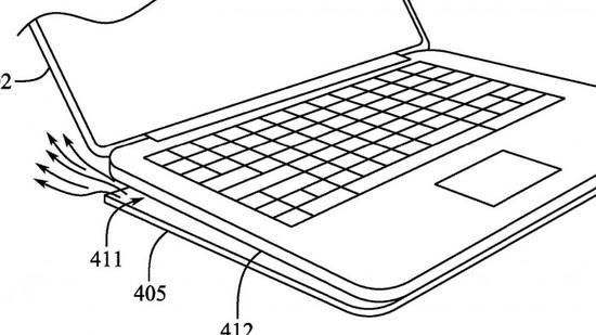 苹果申请新专利:MacBook Pro 未来将采用全新通风底盘