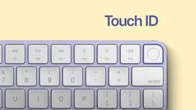 苹果新妙控键盘上的 Touch ID与M1 iPad Pro不兼容