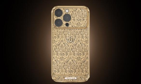 18K纯金打造!全球最贵iPhone 13系列手机