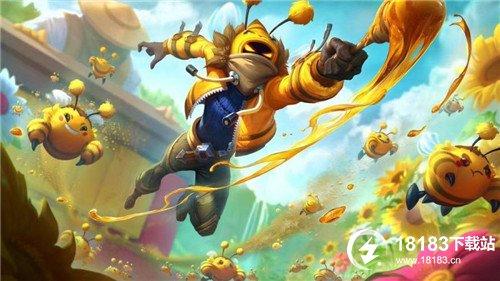"""LOL:小蜜蜂宝典来袭,满级可获得炼金皮肤""""养蜂人"""""""