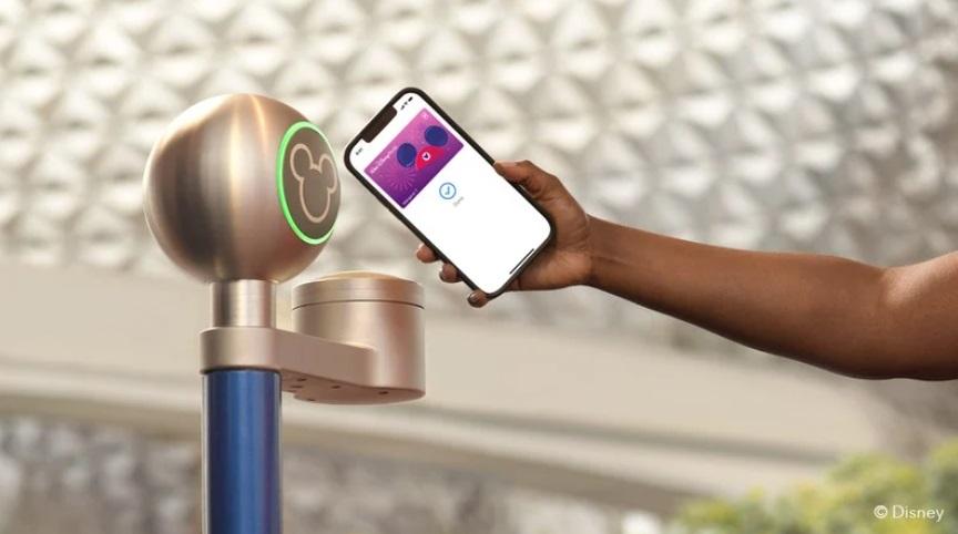 迪士尼乐园现已支持 iPhone 使用虚拟 MagicBand 腕带