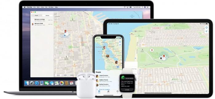 """苹果推出全新应用 """"查找""""功能将支持第三方产品"""