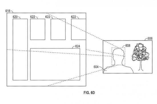 苹果新专利:凝视系统可以检测用户是否已读信息或通知