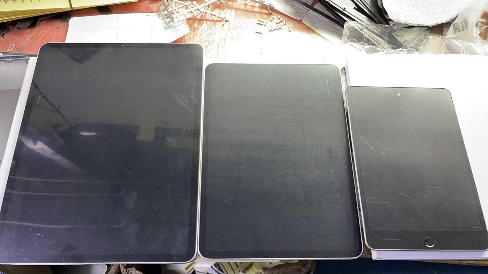 苹果新款 iPad Pro 和 iPad mini 6 模型机照片疑曝光