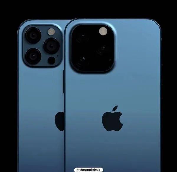 Iphone 13 Pro最新渲染图:相机模组外观改编