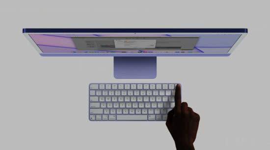 全新iMac厚度仅11.5mm 搭载M1芯片