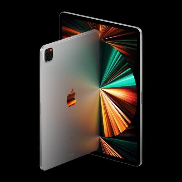 iPad Pro 2021款正式发布 CPU性能提升50%
