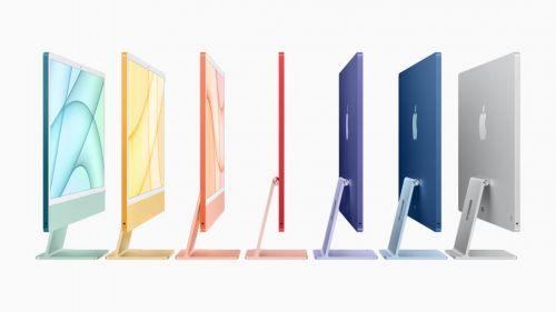 """苹果回应M1iMac""""白边框""""和大下巴设计 苹果M1iMac样式介绍"""
