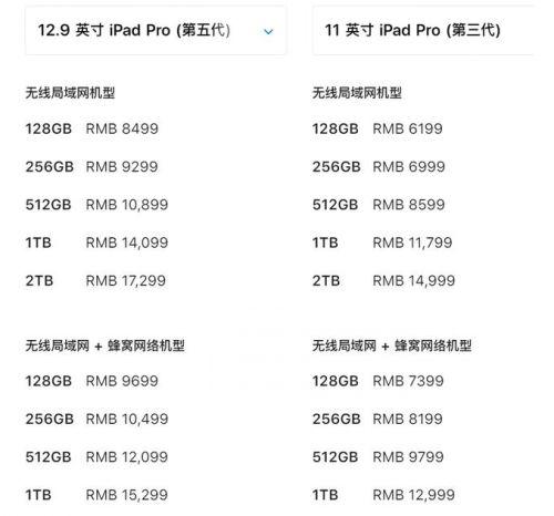 ipadpro11寸和12.9寸哪个比较好 ipadpro选择介绍