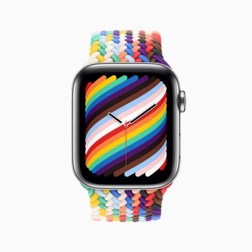 AppleWatch2021新款彩虹表带上线 AppleWatch2021新款表带价格介绍