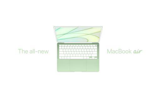 M1X版MacBookAir外观介绍 MacBookAir新版性能分享