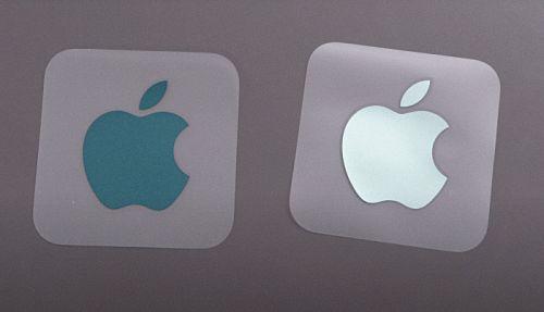 M1iMac配件介绍 M1iMac双色苹果贴纸样式