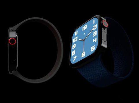 新AppleWatch采用iPhone12设计语言 新AppleWatch绿色版介绍