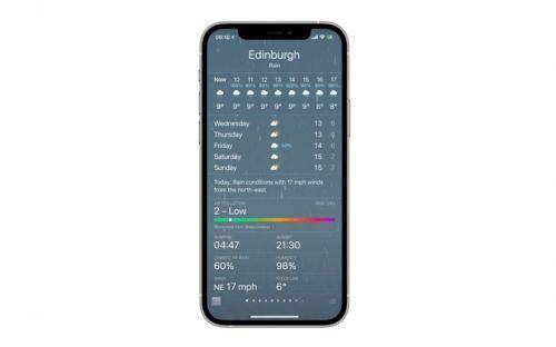 iOS14.7Beta天气功能介绍 iOS14.7Beta空气质量指数功能分享