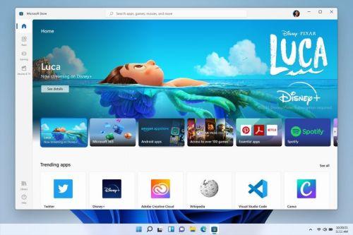 微软Win11正式公布 支持安卓应用