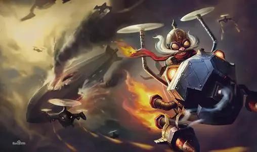 《英雄联盟》手游飞机怎么玩 LOL手游英勇投弹手库奇介绍